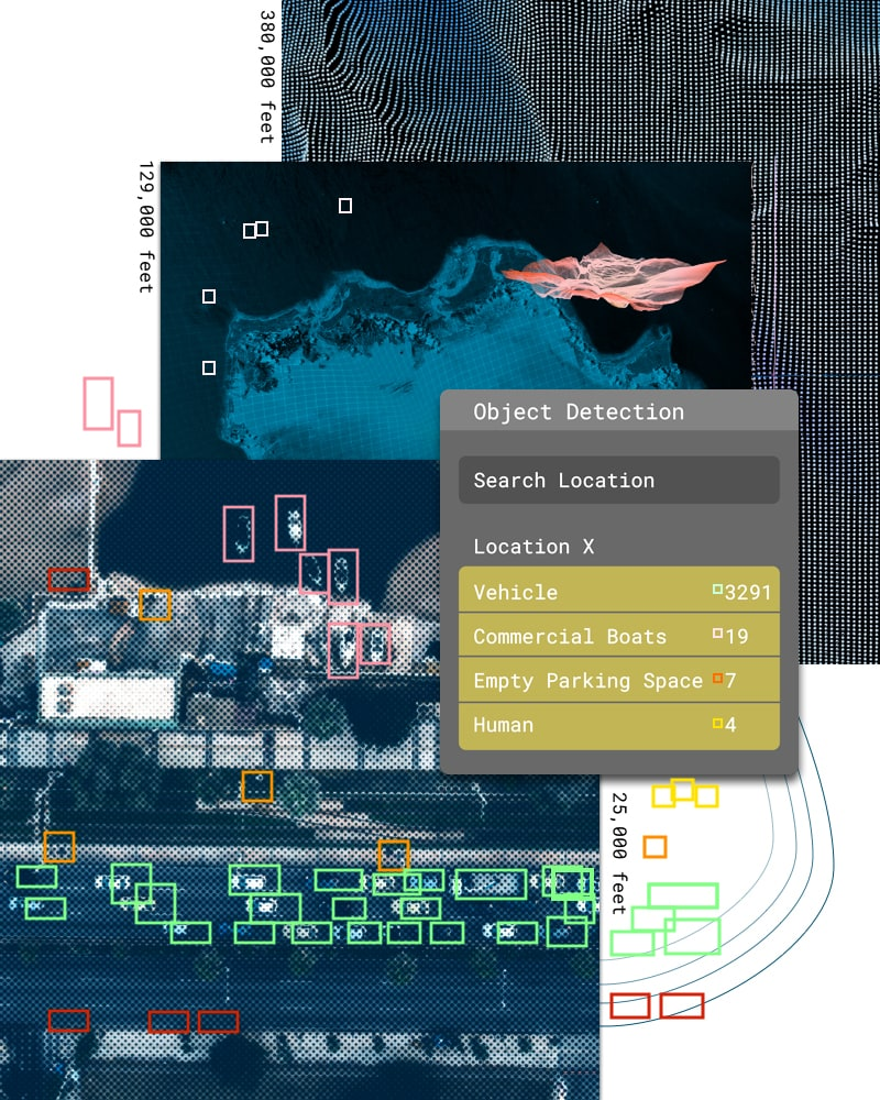 Satellite object detection