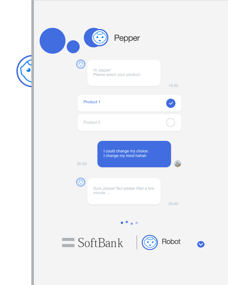 Pepper the chatbot